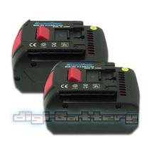 Two Batteries For Bosch 18 V Power Tool Bat618 Bat609 17618 3000m Ah Battery X 2 - $106.89