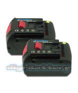 TWO BATTERIES For BOSCH 18V Power Tool BAT618 BAT609 17618 3000mAh BATTE... - $106.89