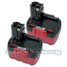 TWO BATTERIES For BOSCH 14.4V Power Tool BAT038 BAT040 BAT041 BAT140 BAT... - $72.89