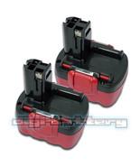 TWO BATTERIES For BOSCH 14.4V Power Tool BAT038 BAT040 BAT041 BAT140 BAT... - $72.89