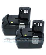 TWO BATTERIES For HITACHI 18V Power Tool BCL1815 EBM1830 WH18DL UB18D BA... - $118.89