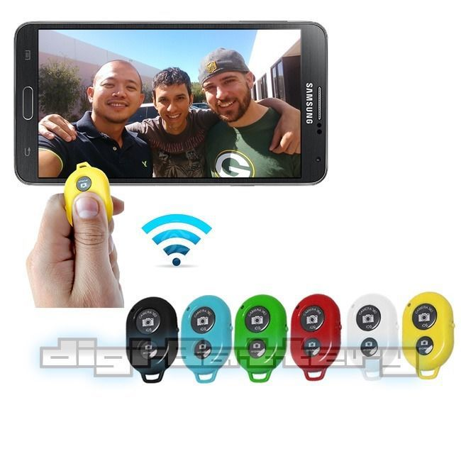Selfie Bluetooth Wireless Camera Remote Control Shutter for HTC One, M8