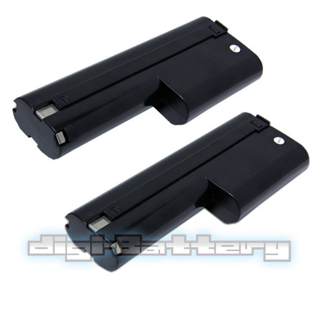 TWO BATTERIES For MAKITA 12V Power Tool 1210 632277-5 5092D 6011D BATTERY X2