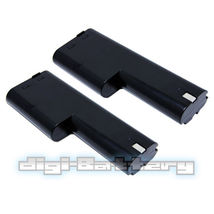 TWO BATTERIES For MAKITA 12V Power Tool 1210 632277-5 5092D 6011D BATTERY X2 image 2