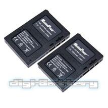 TWO BATTERY FOR JVC BN-VM200 VM200U BNVM200 GZ-MC500 MC - $13.99
