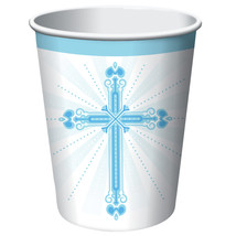 Blessings Blue 9 oz Hot/Cold Cups/Case of 216 - $53.24