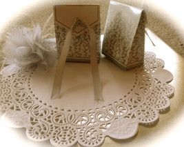 12 pcs Silver  Wedding favour box Party Candy o... - $8.00