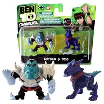 Bandai Year 2013 Ben 10 Omniverse Series 2 Pack 2 Inch Tall Mini Action ... - $32.99