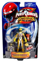 Bandai Year 2007 Power Rangers Operation Overdrive Series 6 Inch Tall Ac... - $34.99