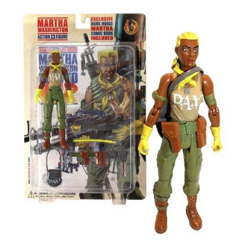 Dark Horse Comics Year 1998 Martha Washington Series 6-1/2 Inch Tall Action Figu - $24.99