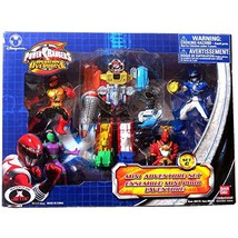 Power Rangers Bandai Year 2007 Operation Overdrive Series 5 Pack Action ... - $69.99