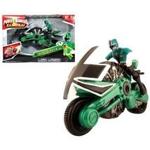 Bandai Year 2011 Power Rangers Samurai Series Action Figure Vehicle Set ... - $51.99