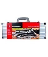 Chefmate Stainless Steel Barbeque BBQ Tool Set ... - $39.99