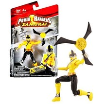 Bandai Year 2011 Power Rangers Samurai Series 4 Inch Tall Action Figure ... - $29.99