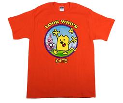Wow Wow Wubbzy Personalized Orange Birthday Shirt - $16.99+