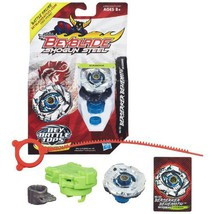 Hasbro Year 2013 Beyblade Shogun Steel Bey Battle Tops with Synchrome Te... - $29.99
