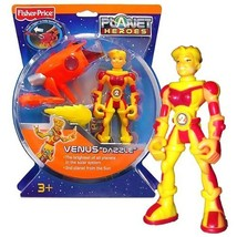 Fisher Price Year 2007 Planet Heroes Basic Series 6 Inch Tall Action Fig... - $34.99