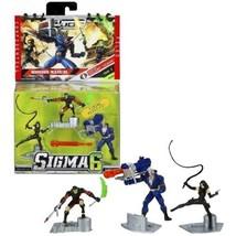 Hasbro Year 2006 G.I. JOE Sigma 6 Mission Manual Series 3 Inch Tall Acti... - $34.99