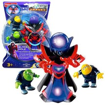 Fisher Price Year 2007 Planet Heroes Deluxe Series 7-1/2 Inch Tall Actio... - $43.99