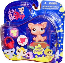 "Hasbro Year 2009 Littlest Pet Shop Portable Pets ""Messiest"" Series Colle... - $14.99"