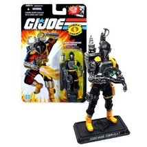 Hasbro Year 2008 G.I. JOE Comic Series 4 Inch Tall Action Figure - Cobra... - $34.99