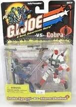 GI Joe vs Cobra Year 2001 Fully Poseable 2 Pack 4 Inch Tall Action Figur... - $54.99