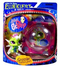Hasbro Year 2007 Littlest Pet Shop Special Edition Pet PUNKIEST Series B... - $29.99