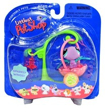 "Hasbro Year 2006 Littlest Pet Shop Portable Pets ""Real Feel Pets"" Series... - $14.99"
