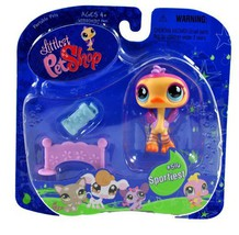 "Hasbro Year 2007 Littlest Pet Shop Portable Pets ""Sportiest"" Series Coll... - $19.99"