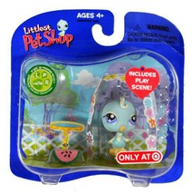 Littlest Pet Shop - Prim 'N Proper Pets - Exclusive #406 Blue Bird with ... - $14.99