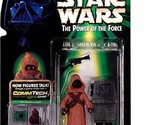 Star Wars, The Power of the Force CommTech, Jawa and Gonk Droid Action Figures,