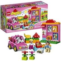 Lego Duplo Year 2014 Preschool Building Toy Set #10546 - MY FIRST SHOP w... - $39.99