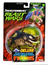 Kenner Year 1998 Transformers Beast Wars Fuzors Series Deluxe Class 6-1/... - $54.99