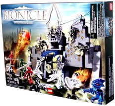 Lego Year 2005 Bionice Series Set #8769 - Visorak's Gate with Walls that... - $79.99