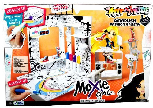 "Primary image for MGA Entertainment Moxie Girlz ""Be True! Be You"" Airbrush Fashion Gallery with 2"