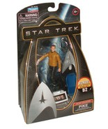Star Trek Movie Series Galaxy Collection 4 Inch Tall Action Figure - PIKE with U - $14.99