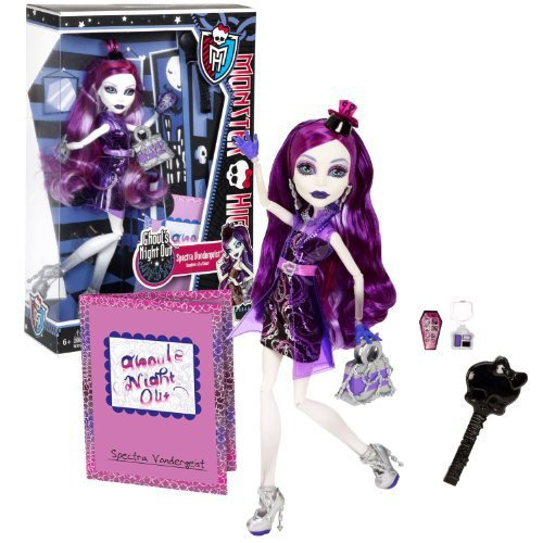 Monster High Mattel Year 2012 Ghoul's Night Out Series 11 Inch Doll Set - Spectr - $39.99