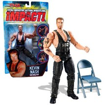 Marvel Toys Year 2006 Total Nonstop Action TNA Wrestling Series 7 Inch T... - $44.99