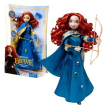 "Mattel Year 2011 Disney Pixar Movie Series ""BRAVE"" 10-1/2 Inch Doll Set ... - $31.99"