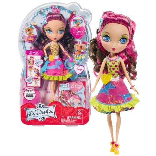 Primary image for La Dee Da Spin Master Rowdy Shouty Chic! Series 10 Inch Doll Set - DEE with Purs
