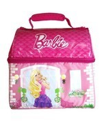 Thermos Mattel Barbie Series Single Compartment Soft Insulated Lunch Tot... - $26.99
