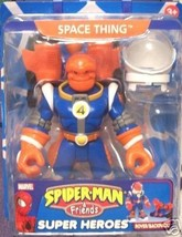 Space Thing Spiderman and & Friends Marvel Super Heroes - $25.00