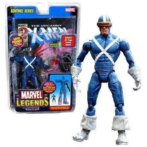 ToyBiz Year 2005 Marvel Legends Sentinel Series 7 Inch Action Figure - White ...