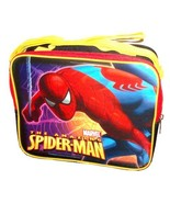 Marvel The Amazing Spider-Man Black Color with Yellow Trim Soft Insulate... - $14.99
