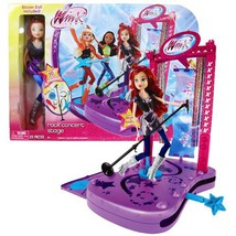 Jakks Pacific Year 2012 Winx Club Series 11 Inch Doll Electronic Playset - ROCK  - $39.99