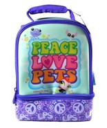 Thermos Littlest Pet Shop Series Double Compartment Soft Insulated Lunch... - $19.99