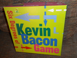Six Degrees of Kevin Bacon - $25.00