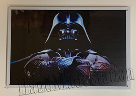 "Star Wars Death vader Wall Metal Sign plate Home decor 11.75"" x 7.8"""