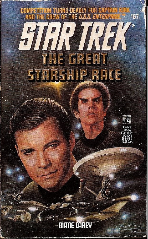 Star Trek TOS The Great Starship Race No 67 by Diane Carey 1993