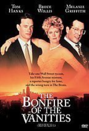 The Bonfire of the Vanities Dvd